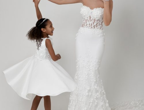Matching Flower Girl Dresses
